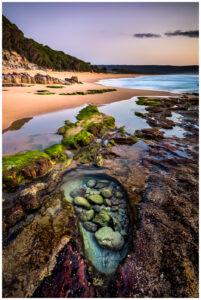 sunrise at eden beach nsw, tourism