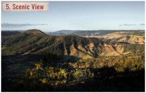 scenicmountain view in queensland australia